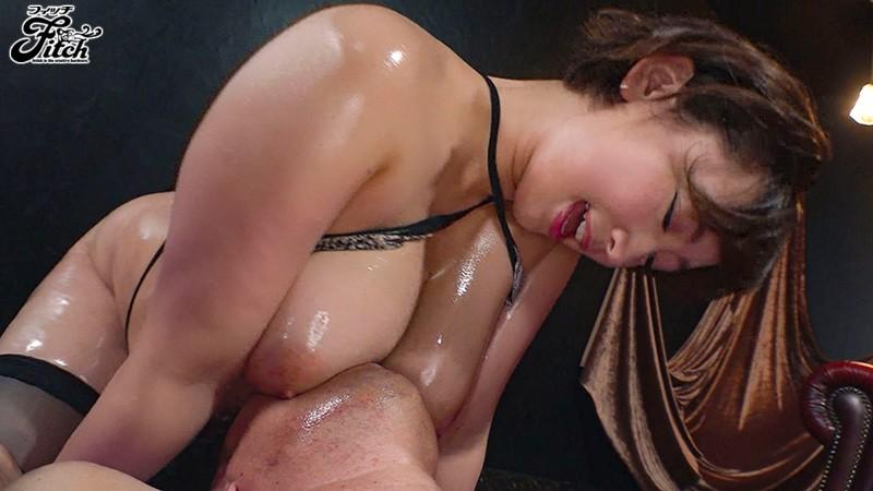 【藤沢麗央】爆乳痴女と赤ちゃんプレイ!ぷるぷる神乳パイズリで大量射精!